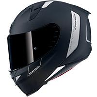 Casco Mt Helmets Revenge 2 Solid A1 Nero Opaco