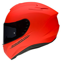 Mt Helmets Targo Solid A5 Rosso Opaco