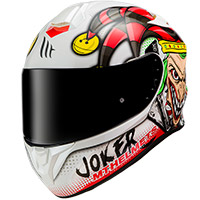 Casco Mt Helmets Targo Joker A0 blanco