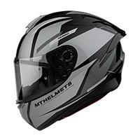 Casco Mt Helmets Targo Pro Sound A2 Grigio