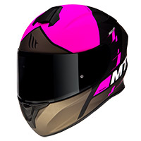 Casco Mt Helmets Targo Rigel A8 Rosa Opaco