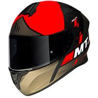 マウント ヘルメット ターゴ リゲル A5 ヘルメット マット レッド