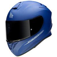 Casco Mt Helmets Targo Solid A7 azul opaco