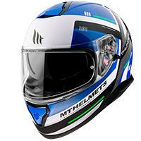 Casco Mt Helmets Thunder 3 Sv Carry C7 Blu