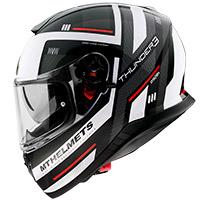 Casco Mt Helmets Thunder 3 Sv Carry E0 blanco