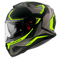 Casco Mt Helmets Thunder 3 Sv Turbine C3 Giallo