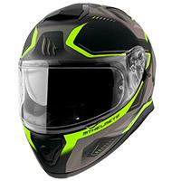 Casco Mt Helmets Thunder 3 Sv Turbine C3 amarillo