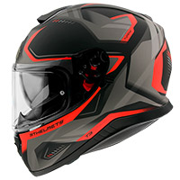 Casco Mt Helmets Thunder 3 Sv Turbine C4 naranja