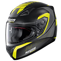 Nolan N60.5 Adept Yellow Flat Black