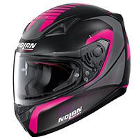 Nolan N60.5 Adept Pink Flat Black