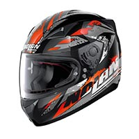 Nolan N60.5 Hyperion Full Face Helmet Glossy Black Orange