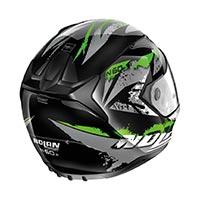 Nolan N60.5 Hyperion Full Face Helmet Glossy Black Green