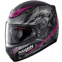 ノーラン N60.5 メトロポリス ピンク フラット ブラック