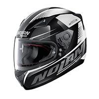 Nolan N60.5 Motrico Full Face Helmet Glossy Black White
