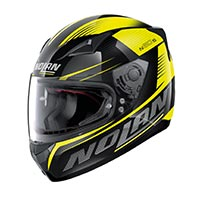 Nolan N60.5 Motrico Full Face Helmet Glossy Black Yellow