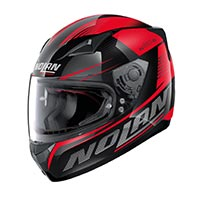 Nolan N60.5 Motrico Full Face Helmet Glossy Black Red
