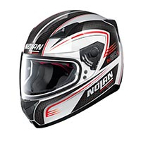 Nolan N60.5 Rapid Full Face Helmet Metal White