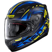 Nolan N60.5 Secutor Blue Yellow Flat Black