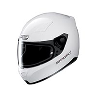 Nolan N60.5 Sport Full Face Helmet Metal White