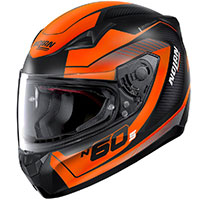 Nolan N60.5 Veles Orange Flat Black