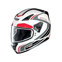 Nolan N60.5 Practice Full Face Helmet White Red