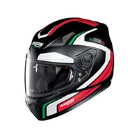 Nolan N60.5 Practice Full Face Helmet White Red Green