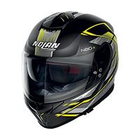 Nolan N80.8 Thunderbolt N-com Giallo Nero Opaco