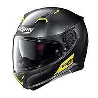 Nolan N87 Emblema N-com Full Face Helmet Yellow Black