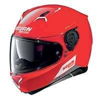 Nolan N87 Emblema N-com Full Face Helmet Red