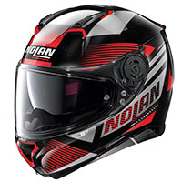 Nolan N87 Jolt N-com Metal Black Red