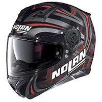 Nolan N87 Ledlight N-com Nero Rosso