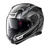 Nolan N87 Originality N-com Full Face Helmet Black Gray