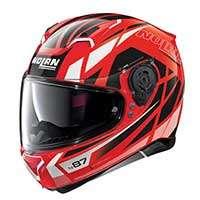 Nolan N87 Originality N-com Full Face Helmet Red