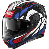 Nolan N87 Originality N-com Helmet Black Red