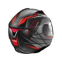 Nolan N87 Originality N-com Full Face Helmet Black Red