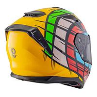 Nos Ns 10 Rubik Helmet Multi
