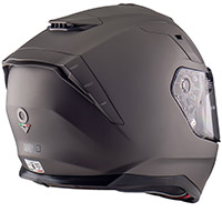 Nos Ns 10 Helmet Titanium Matt