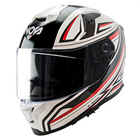 Nos Ns 10 Fastback Helmet White