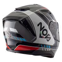 Nos Ns 10 Mig Helmet Red Blue