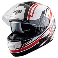 Casco NOS NS 7F Adrenaline blanco