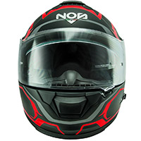 Nos Ns 7f Douglas Helmet Matt Red