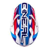 O'Neal Sierra II Circuit Helm weiß blau - 3