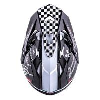 O'Neal Sierra II Torment Helm schwarz weiß - 3