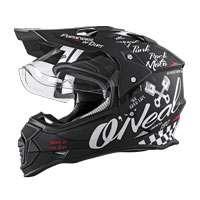 O'neal Sierra Ii Torment Helmet Black White