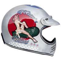 Premier Mx Pin Up Old Style Silver