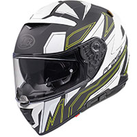 Premier Devil El Y Bm Helmet White Yellow