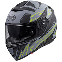 Premier Devil El Y Grey Bm Helmet Grey Yellow