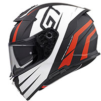 Premier Devil Gt 92 Bm Helmet Orange White
