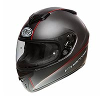 Casque Premier Dragon Evo T2 17 Bm Rouge