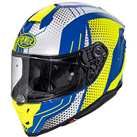 Premier Hyper Bp 12 Helmet Blue Yellow